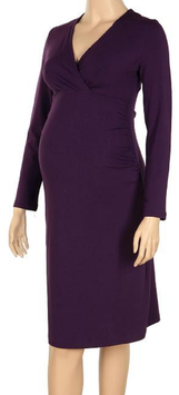 "Gregx Maternity Dress ""Bria"" - Purple"