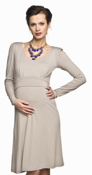 "Torelle Maternity Dress ""Molita Mum"" - Cappuccino"