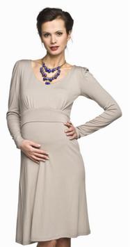 "Torelle Maternity Dress ""Molita Mum"" - Cappuccino"