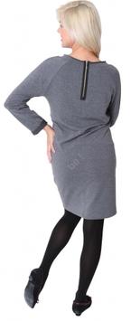 """be mama! Maternity Dress """"Loop"""" - Grey"""