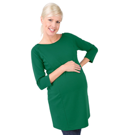 "be mama! Maternity Tunic ""Mona"" - Green"