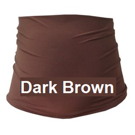 Gregx Maternity Belly Band - Dark Brown
