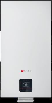 Chaudière  à condensation Saunier Duval Isomax condens Eau chaude accumulée 2x21 litres