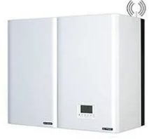 Chaudière à condensation Frisquet  Hydromotrix  Visio FRISQUET Mixte + ballon UPEC 80  25kw Régulation EcoRradio System Visio
