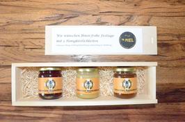 Geschenkidee - Honig in edler Holzkiste