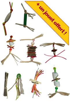 Pack jouets de patte