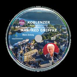 DVD - Koblenzer Altstadtführung mit dem Koblenzer Original Manfred Gniffke