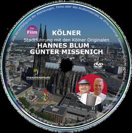 DVD - Kölner Stadtführung mit den Kölner Originalen Hannes Blum und Günter Missenich