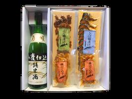 銘酒と金沢珍味コラボセット(菊姫 山廃純米酒)