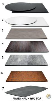 Tischplatten für Stehtische