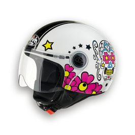 CASCO AIROH COMPACT MEXICAN GLOSS