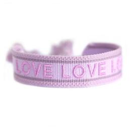 Armband gewebt LOVE