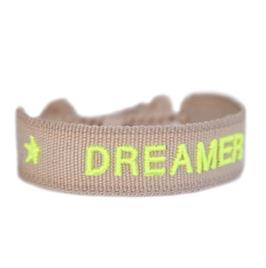 Armband gewebt DREAMER