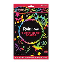 Scratch art arco iris