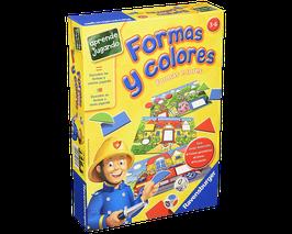 Juego de mesa formas y colores
