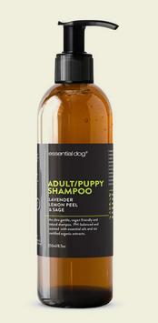 Natural Dog Shampoo for Puppies & Adults (Lavender, Lemon Peel & Sage)
