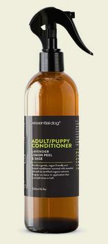 Natural Dog Conditioner for Puppies & Adults (Lavender, Lemon Peel & Sage)