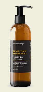 Natural Dog Shampoo for Sensitive Skin (Chamomile, Sweet Orange & Rosewood)
