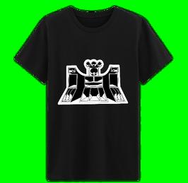 T-shirt noir Green Smoke