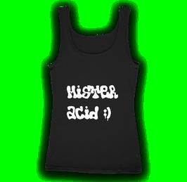 Débardeur noir Mister Acid