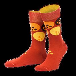 Orange Socken Dude l von Jungfeld
