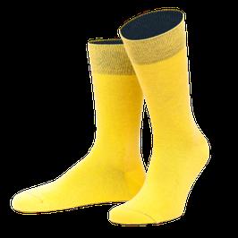 Sonnengelb Socken Spiekeroog  l von Jungfeld