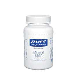PURE ENCAPSULATIONS MINERALS 650A