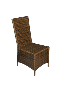 High Recliner- square, gold crown