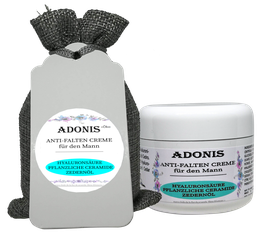 ÖKO ADONIS Anti-Falten-Feuchtigkeitscreme  für Mann