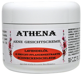 Moisturizing cream and for sensitive skin ATHENA