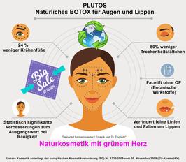 ÖKO PLUTOS  Anti-Aging-Creme für die Augen- und Lippenkonturen