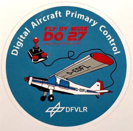 Fly By Wire - Dornier Do27 Sticker