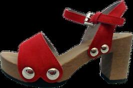 Softclox Sandalette EILYN Kaschmir rot (hazelnut)