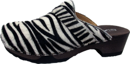 Softclox Clog TAMINA Animalprint Zebra