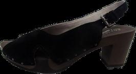 Softclox Sandalette WIEBKE Kaschmir schwarz
