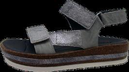 Think! Sandale ZEGA grau/kombi