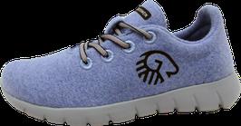 Merino Runners himmelblau
