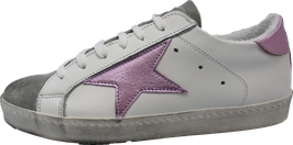 Sneaker Crosta Sabbia Bianco