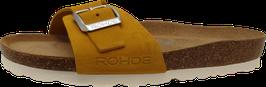Rohde Pantolette gelb