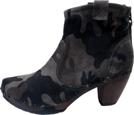 Softclox Stiefelette CALINA camouflage granit