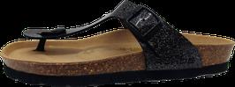 Rohde Zehensteg Sandale Glitterlack