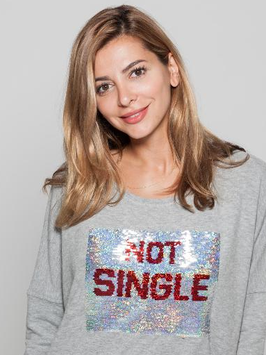Single- Not Single Sweater