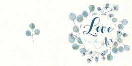 Carte Love Eucalyptus