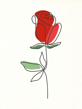 Affiche Style Line Art Vegetal 10