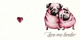 Carte Love me tender