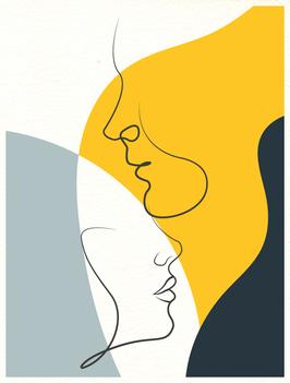 Affiche Style Line Art Femme 9
