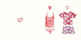 Carte Love Pyjamas