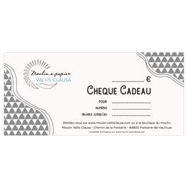 Chèque cadeau Moulin Vallis Clausa