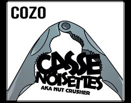 "Cozo "" Casse Noisettes Aka Nut Crusher"""
