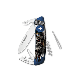 SWIZA D03 Indian Skull